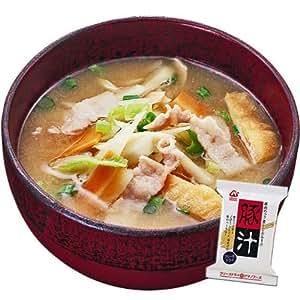 アマノフーズ フリーズドライ味噌汁 豚汁 10袋セット