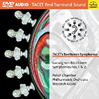Tacet's Beethoven Symphonies No. 1 & 2 by Polish Chamber Philharmonic Orchestra
