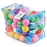 fur kinder カラーボール 凹み補正改良品 カラーボール 8色 直径7cm 100個
