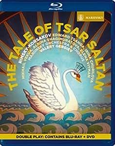リムスキー=コルサコフ : 歌劇 「皇帝サルタンの物語」 (Rimsky-Korsakov : The Tale of Tsar Saltan / Valery Gergiev | Mariinsky Orchestra and Chorus) [DVD+Blu-ray] [輸入盤] [日本語帯・解説付]