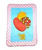 キャンディクラッシュ Candy Crush 子供用 シェルパスローブランケット 46x 60インチ 46