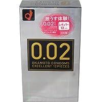 オカモトコンドームズ 0.02EX(エクセレント) 12個入  ×8個セット