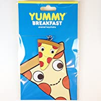 Kidrobot Yummy Breakfastエナメルキーチェーン–Pizza–Very Rare 。