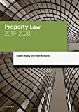 Property Law 2019-2020 (Legal Practice Course Manuals) 画像