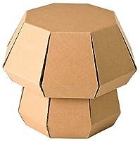 FunnyPaper(ファニーペーパー) Mushroom Stool(Plain) 段ボール椅子 TKSI_201 27×27×22.8cm TKSI_201