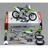 マイスト 1/12 カワサキ 川崎 KX 450F 組み立て キット Maisto 1/12 Kawasaki KX450F オートバイ Motorcycle バイク Bike Model オンロード ロードバイク 組み立て式 プラモデル