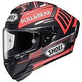 Shoei X-14 Marquez 5 ブラック コンセプト ストリートバイクヘルメット M...