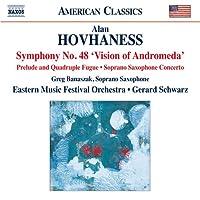 ホヴァネス:交響曲 第48番「アンドロメダの幻影」Op.355