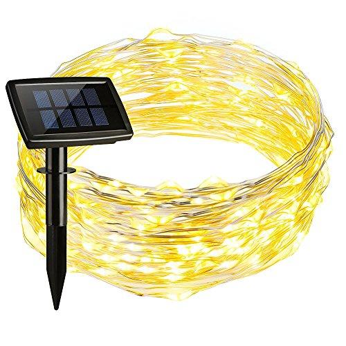 Setom 充電式LED イルミネーション 150球15m 点灯8パターン ...