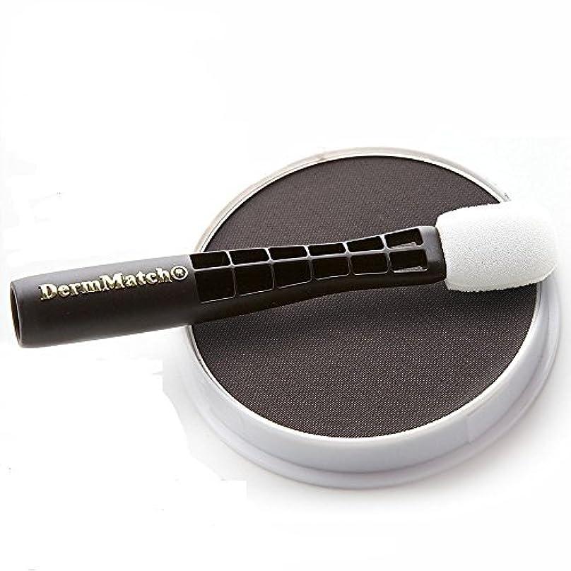 彫刻恋人遅れDermMatch Hair Loss Concealer Black 40g - ダームマッチ ヘアロスコンシーラー ブラック 40グラム