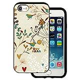 Best BG iPhone 4ケース - mitas iPhone7 ケース ハイブリットケース 耐衝撃 (913) バード 鳥 Review