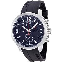 [ティソ] TISSOT 腕時計 PRC 200 ブラック文字盤 ラバー T0554171705700 メンズ 【正規輸入品】