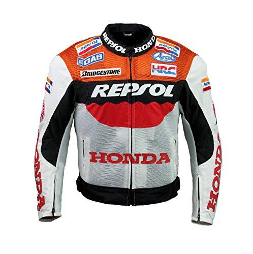 Honda Repsol Team Textileジャケット X-Large オレンジ 72232