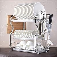 排水キッチンラック、3層食器棚ステンレス鋼取り外し可能なインストールキッチンシンク家具収納ラック,B