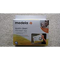 Medela Quick Clean Micro-Steam Bags (6 Count (30 Bags)) by Medela [並行輸入品]
