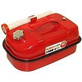 ガレージ・ゼロ ガソリン携行缶 10L GZKK02 [消防法適合品]/亜鉛メッキ鋼板 *送料無料(北海道・沖縄・離島は除く)