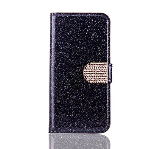 iPhone8 ケース 4.7 inch 新型 モデル 手帳 型 ブック クリスタル タイプ PU ...