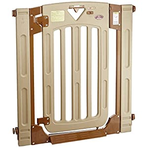 日本育児 ベビーゲート スマートゲイト II 6ヶ月~24ヶ月対象 扉開閉式の突っ張りゲート 幅木よけつき
