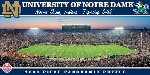 Notre Dame Fighting IrishパノラマStadiumパズル