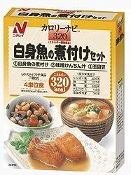 ニチレイ カロリーナビ320 白身魚の煮付けセット