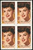 JUDY GARLAND ~ LEGEND OF HOLLYWOOD ~ BLOCK OF 4 STAMPS (#4077 Block of 4 x 39??US Postage Stamps) by UUS [並行輸入品]
