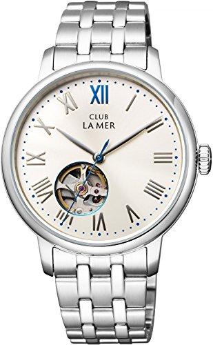 [シチズン]CITIZEN CLUB LA MER クラブ・ラ・メール 機械式腕時計 シースルーバック オープンハート BJ7-018-11 メンズ