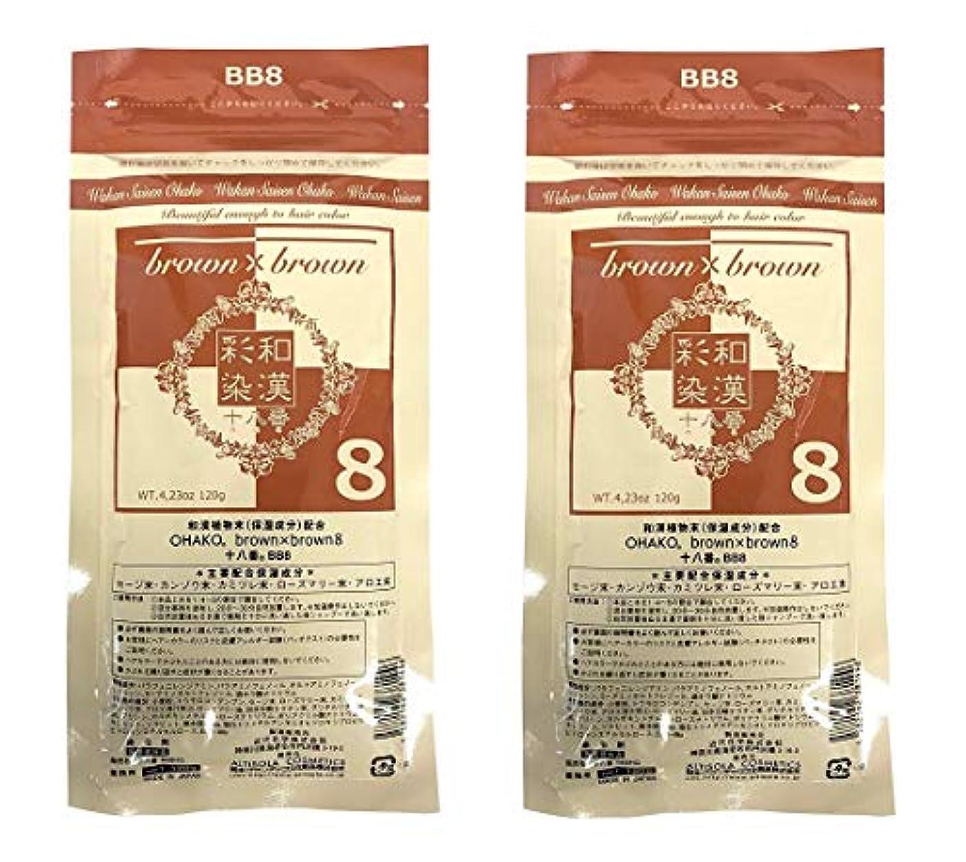 うがい電気技師弁護【2個セット】グランデックス 和漢彩染 十八番 120g BB8