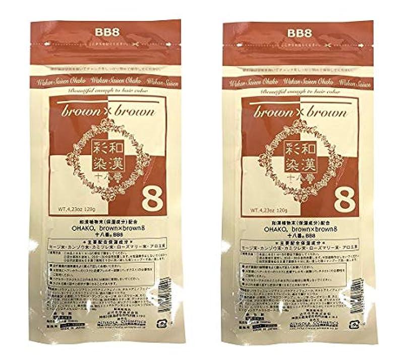 【2個セット】グランデックス 和漢彩染 十八番 120g BB8