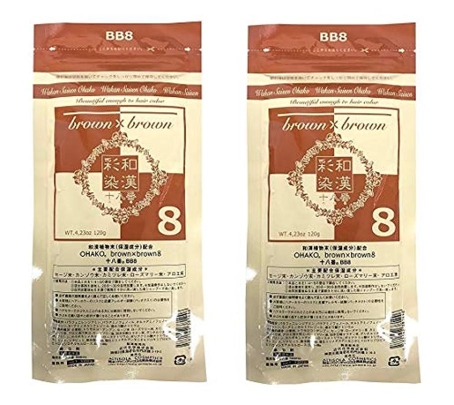 セラー工業用行進【2個セット】グランデックス 和漢彩染 十八番 120g BB8