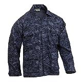 ロスコ BDU シャツ ジャケット/ROTHCO B.D.U. SHIRTS (2XL, ミッドナイトデジタルカモ(MDC))