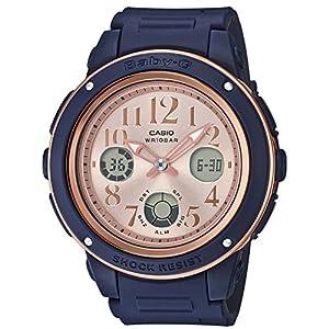 [カシオ]CASIO 腕時計 BABY-G ベビージー ネイビー&ブラウン BGA-150PG-2B1JF レディース