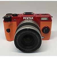 PENTAX ミラーレス一眼 Q10 ズームレンズキット [標準ズーム 02 STANDARD ZOOM] レッド/オレンジ