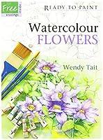 Search Press Books-Watercolor Flowers (並行輸入品)