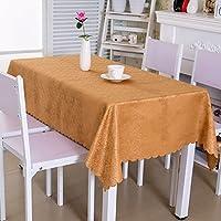 ホテルのテーブルクロス、大きなラウンドテーブルクロス、ホームダイニングテーブルクロスの生地丸い長方形 (サイズ さいず : 140*180cm)