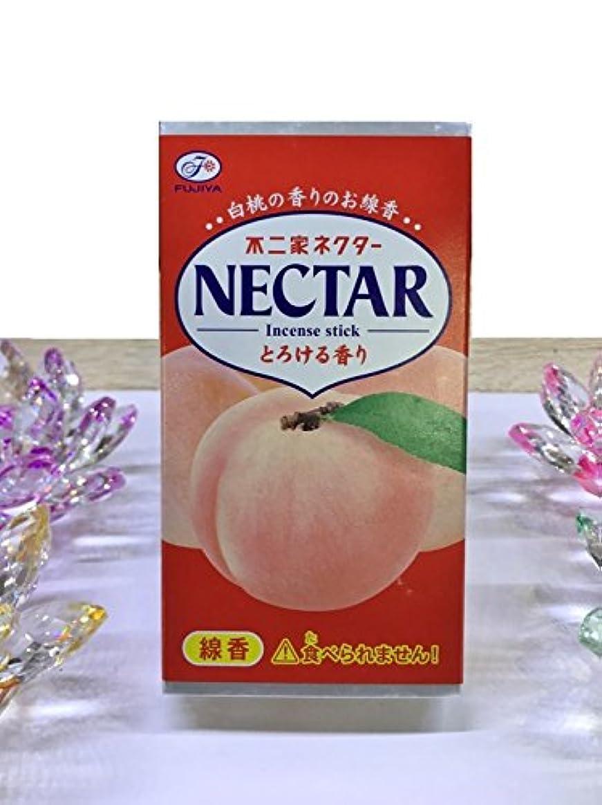 割り当てます探偵口径kameyama ミニ寸線香 不二家ネクター 白桃の香りのお線香 とろける香り
