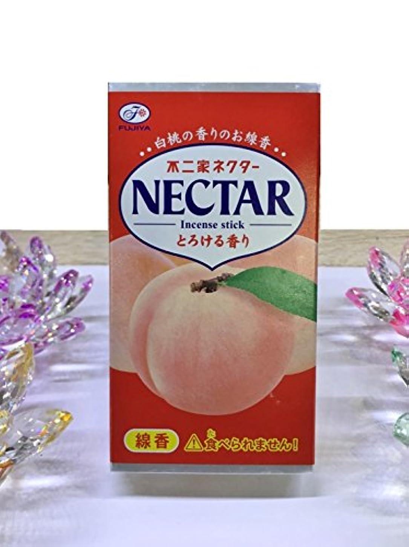 ドル滑るチートkameyama ミニ寸線香 不二家ネクター 白桃の香りのお線香 とろける香り
