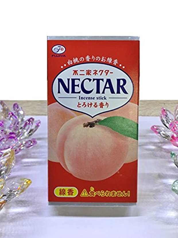 スカート船養うkameyama ミニ寸線香 不二家ネクター 白桃の香りのお線香 とろける香り