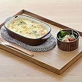 テーブルウェアイースト 木製 ナチュラルスタックトレー(L) ナチュラル 24.9 x 18.9 2.4 cm wh-W1-2012-0 画像