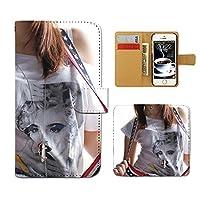 (ティアラ) Tiara シンプルスマホ2 401SH スマホケース 手帳型 ポスター 手帳ケース カバーPHOTO 女性 セクシー モデル E0176020072302