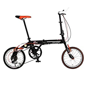 DOPPELGANGER(ドッペルギャンガー) 折りたたみ自転車 FALTRADシリーズ ROADFLY 111 16インチ 軽量アルミフレーム採用モデル