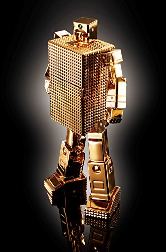 超合金魂 黄金戦士ゴールドライタン GX-32R ゴールドライタン 24金メッキ仕上げ 約130mm(ロボ形態時) ABS&PVC&ダイキャスト製 塗装済み可動フィギュア