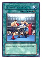 2006 Enemy of Justice 1st Edition EOJ-45 Guard Penalty (R) / Single YuGiOh! Card in Protective Sleeve