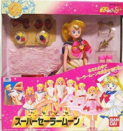 へんしん スーパーセーラームーン 人形