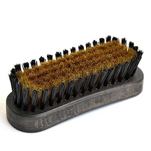 紗乃織刷子(さのはたブラシ)スエード用 日本製最高級靴ブラシ・本真鍮使用