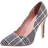 Zanpa Women Fashion Pumps Stiletto Heels Animal Print