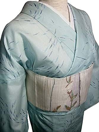 洗える絽着物と正絹絽綴れ帯セット(M)