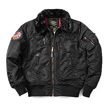 ALPHA アルファ USA 50th ANNIVERSARY INJECTOR フライトジャケット 5色 /alpha-anni-inj (S, WASH BLACK)