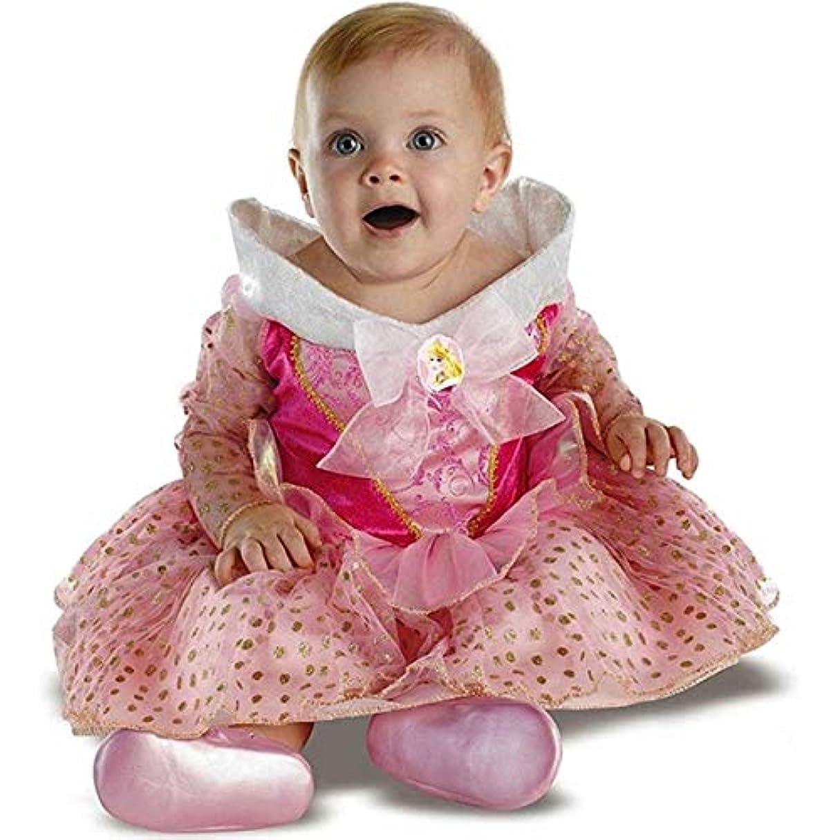 バレルイル量でオーロラ姫 眠れる森の美女 バレリーナ 幼児用 コスチューム サイズ:Infant (12-18 Months)