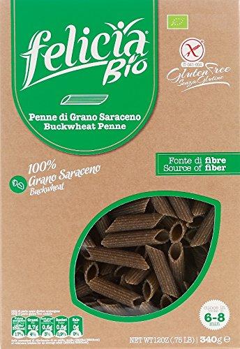 そば粉のグルテンフリーパスタ (ペンネ) Gluten Free Buckwheat pasta (penne)