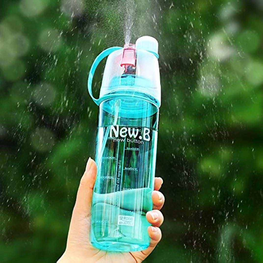 受け皿懲戒近傍RETYLY 屋外スポーツボトル ポータブル旅行の水を飲むコップ 漏れ防止スプレーボトル